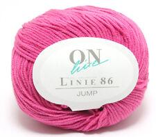 4 balls of Online Jump DK Knitting Yarn Color #30 (Cerise)