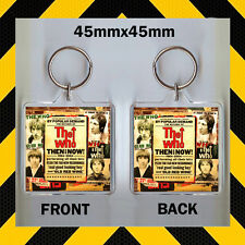 THE WHO - NOW AND THEN 1964 -2000 KEYRING -CD987