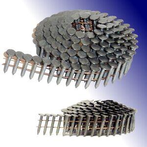 16° Dachpappnägel 3,1x38mm Ring feuerverzinkt Coilnägel für Dachpappnagler