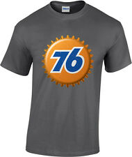 Union 76 Gasoline Bottle Cap Retro T-Shirt