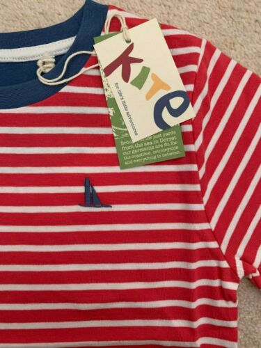 Size 3 Years /& 4 Years RRP £18 *SALE* Kite Organic Sailor T-Shirt
