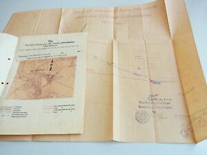 Telegraphenlinie Bata Ottmuth Dokumente 1931/32 Neustadt-gogoliner Eisenbahn