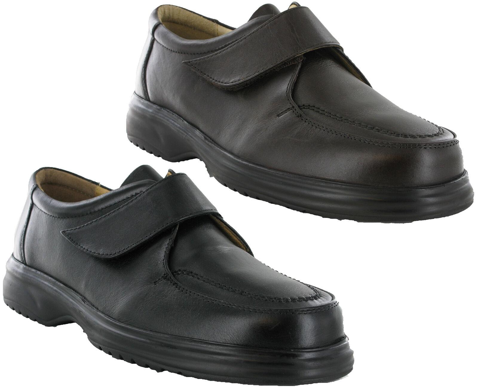 Roamers E Convient Cuir Léger Généreux pour Comfort Doublé Doublé Comfort Chaussures Homme 4e83cf