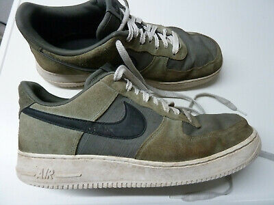 NIKE Air Force 1 one Gr. 44,5 US 10,5 28,5 cm Nike # 488298 081 grey jade | eBay