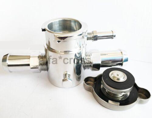 19mm Aluminum Filler Neck Cap Radiator Charge Cooler Header Overflow Water Tank