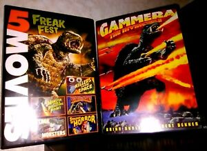 6-Monster-Movies-DVD-Lot-Monsters-Collection-DVDs-HTF-Classics-Vintage-Rare-OOP