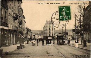 CPA Le PUY - La Rue St-Haon - Le Velay Illustre (588801)