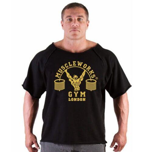 Muscle Works Gym Rag Top Bodybuilding Hardcore Vêtements Débardeur Entraînement Training
