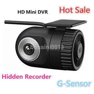 Full HD 720P Car Back Mirror Lens Video Recorder Dash Cam G-Sensor + Camera UK