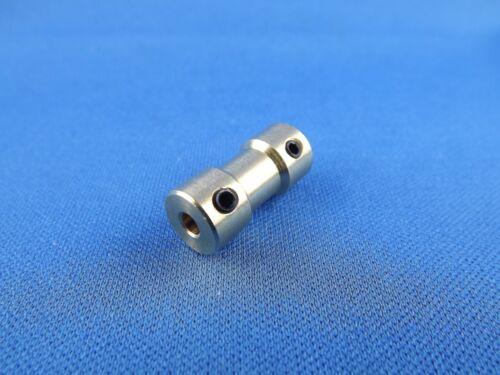 Wellenkupplung Gestängeverbinder 2mm auf 5mm Gestängekupplung