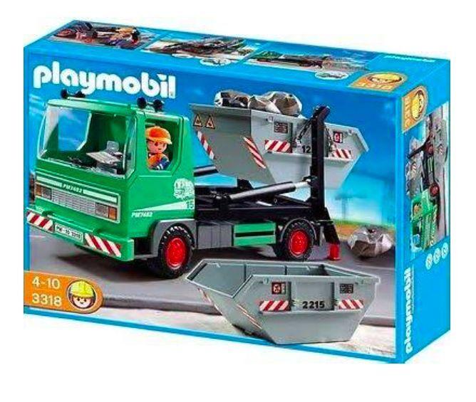 PLAYMOBIL ® cittàLIFE 3318 container servizio-Camion con  container + rinfusa NUOVO _ nuovo  miglior prezzo