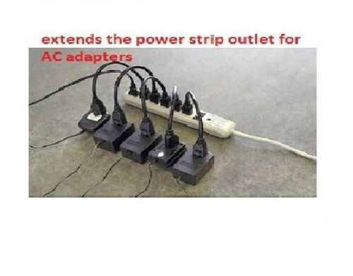 Saver 5-Pack 1ft Premium Series AC Power Strip Outlet Extender 5 UNITS