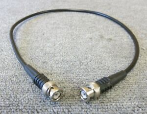 BNC Plug Male Straight To BNC Plug Male Straight 600MM Black Coaxial RF Cable - London, United Kingdom - BNC Plug Male Straight To BNC Plug Male Straight 600MM Black Coaxial RF Cable - London, United Kingdom