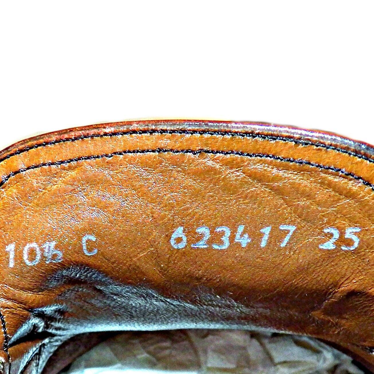 Bally Continentaux Suisse Marron 10.5 Mocassins Cuir 10.5 Marron C Étroit Fait en Italie 4950e3