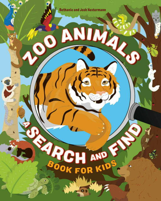 Zoo Animals: A Search and Find Book for Kids - Paperback