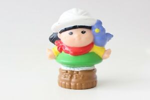 Fisher-Price-Little-People-Girl-with-Bird-Toy-Figure