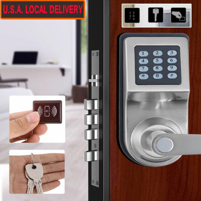 Electronic Password Keyless Doorlock Power Digital Door Entrance Lock