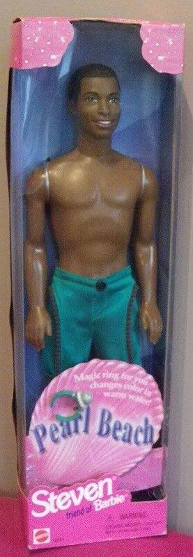 Ken AA STEVEN Barbie PEARL BEACH plage 1997 Mattel 18581 poupee garçon doll NEW
