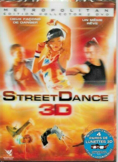 Street Dance - 3D - DVD + 3D glasses - 2010 - NEW - SEALED - UK FREEPOST