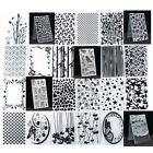 Plastic Embossing Folder Template DIY Xmas Scrapbook Paper Craft Various Pattern