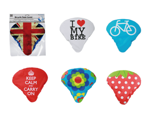 Cooler-Fahrrad-Bike-Sitz-Bezug-Wasserfest-Dekoration-Accessoire-Geschenkidee