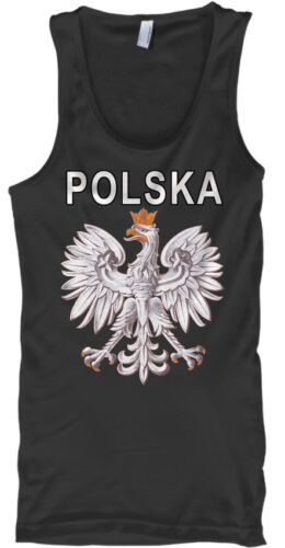 Polska Polish Eagle Male Tank Top