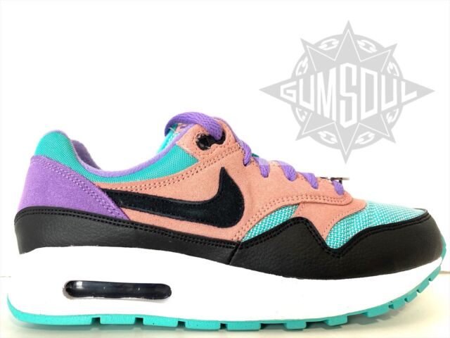 Nike Air Max 1 GS Have a Nike Day Black White Space Purple At8131 ...