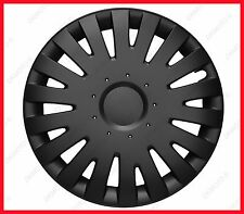 "FIAT 500 14"" Wheel trims  4x14"" full set BRAND NEW black matt 14''"