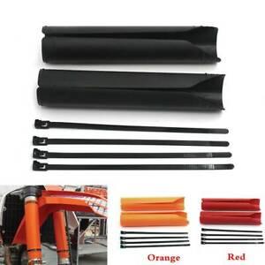 Upper-Fork-Guard-Protectors-For-Honda-CRF150R-07-09-CRF230L-CRF250L-KTM-SX-SXF