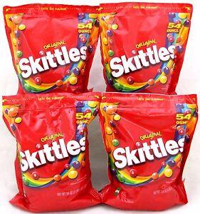 Image Is Loading Skittles Original Fruit 4 54 Oz Bags 13