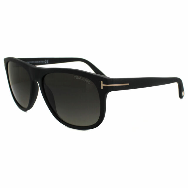 28ee990adf1f7 Authentic Tom Ford Olivier Ft0236 TF 236 02d Matte Black Plastic ...