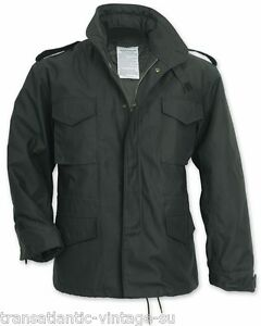 M65-FIELD-JACKET-WITH-QUILTED-LINER-VINTAGE-MENS-MILITARY-ARMY-COMBAT-COAT-BLACK