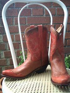 Stivali Stivali euro cowboy da 250 molto belli da in pelle 37 vBwytBrAqx