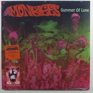 MONKEES-Summer-Of-Love-RHINO-LP-pink-green-vinyl-SEALED