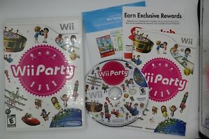 Wii Party (Nintendo Wii, 2010) 100% Complete Tested & Works Great CIB