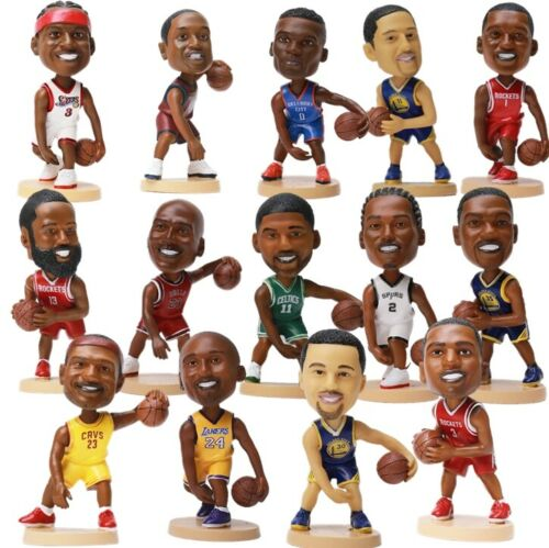 James Lebron Action Figure Car Bobble Heads Sports Basketball Gift Souvenir