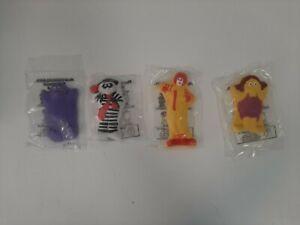 1994-McDonald-039-s-Happy-Meal-Toys-Complete-Set-of-4-Sidewalk-Chalk