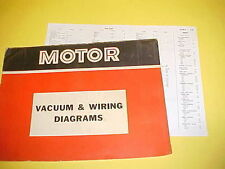 1965 1966 1967 1968 1969 FORD GALAXIE 500 XL LTD 7-LITRE VACUUM+WIRING DIAGRAMS