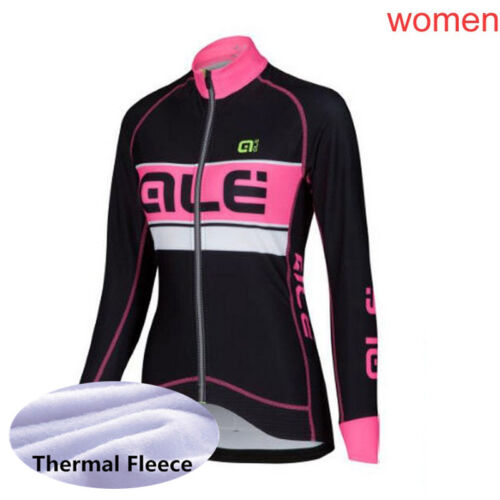 2018 winter cycling clothing women thermal fleece bike jersey long sleeve Shirts