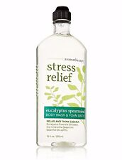 BATH & BODY WORKS BBW Aromatherapy Eucalyptus Spearmint STRESS RELIEF Body Wash