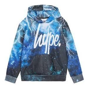 Hype Juniors Zip Hoodie Black