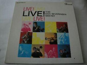 The Doc Severinsen Sextet: Live! VINYL LP ALBUM 1966 COMMAND RECORDS MICHELLE EX
