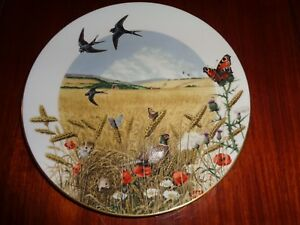 Royal-Worcester-Franklin-Ltd-Edition-Collectors-Plate-THE-WHEATFIELDS-IN-AUGUST