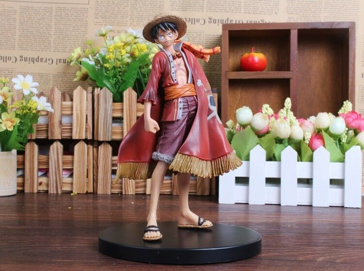 Action figure ONE PIECE manga RUBBER 17 cm spedizione rapida italia