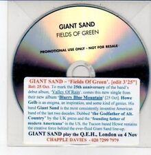 (DD673) Giant Sand, Fields of Green - DJ CD
