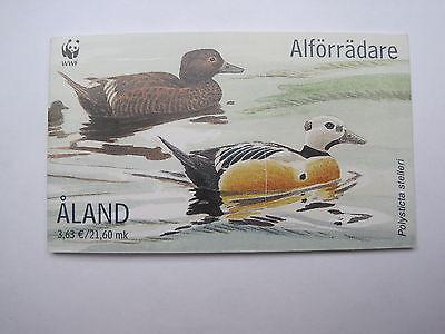 Aland Mh 9 Aus 2001 Scheckenten Europa