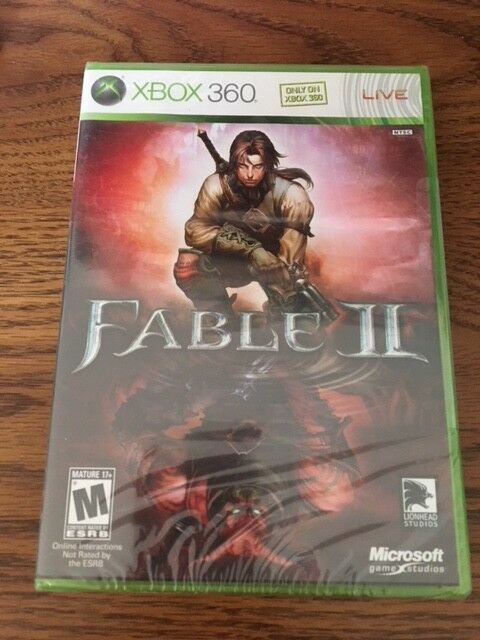 Factory Sealed Fable II XBOX 360 NTSC U/C Free Shipping