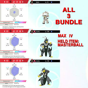 Urshifu-Both-Forms-amp-Kubfu-amp-BUNDLE-6IV-Pokemon-Sword-Shield-Isle-Of-Armor