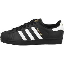 buy online 491da 09da7 Adidas Superstar Foundation Zapatos Retro Clásico Zapatillas Blanco y Negro