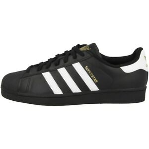 Sneaker Retro Superstar Adidas Scarpe B27140 Foundation Bianco Classic Nero 6qFvX